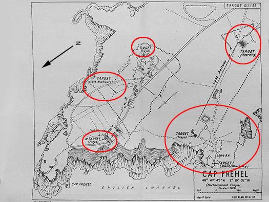 Bunker Atlantikwall Karte.La318 Cap Frehel Pointe Du Jas Luftwaffe Kriegsmarine