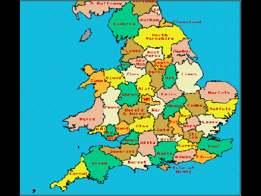 Reliable Index Image Full Map Of England
